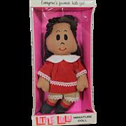 Darling Vintage 1972 Little Lulu Cloth Doll Gund in Original Box!