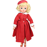 """Fabulous Blonde Bombshell!  c1956 Uneeda 20"""" Teen Fashion Doll - Fits Cissy Clothes!"""