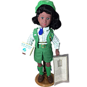 SOLD Vintage 1995 Avon African American Girl Scout Doll!