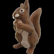 Vintage Bing & Grondahl Copenhagen Porcelain Squirrel Figurine