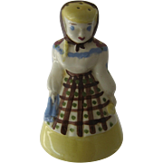 """1950s California Cleminsons Figural """"Kleanser Kate"""" Cleaning Powder Shaker"""