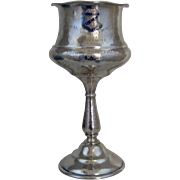 1947 Sterling Golf Trophy Goblet Hillcrest Country Club