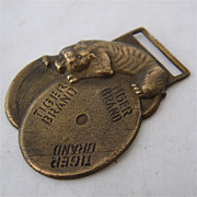 1940s Tiger Brand Wire Rope Watch Fob