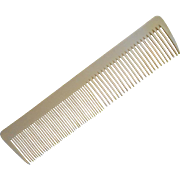 Celluloid Comb Large Antique Vanity 1910s Clean