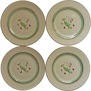Coralbel Art Deco Vintage Syracuse China Bread Plates 4