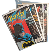 BATMAN A Death in the Family 426 427 428 429 Vintage Copper Age Classic DC ...