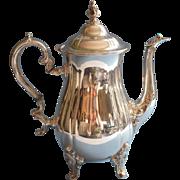 Gorham Teapot Vintage Silver Heritage Heavy