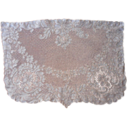 SOLD Alencon Lace Vanity Doily Vintage Or For Nightstand Table