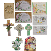 Easter Paper Vintage to Antique Postcards Cards Postcard Card
