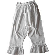 Pantalettes Bloomers Pantaloons Vintage Antique Unworn Trousseau
