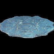 Cake Plateau Antique EAPG Imperial Glass Pedestal