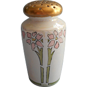 Sugar Shaker Antique Hand Painted China Dated 1911 Luster Arts Crafts