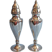 Vintage Shakers Silver Plated Salt Pepper Wm. A. Rogers