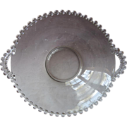 Candlewick Serving Bowl Handles Vintage Imperial Glass