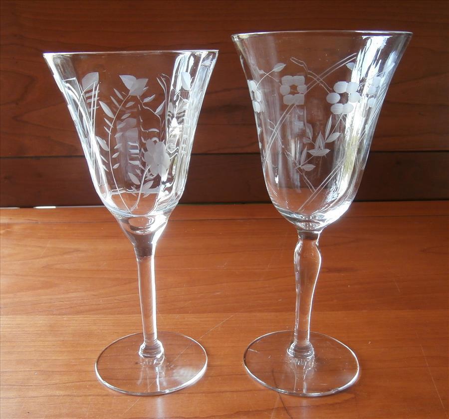 Wine Glasses Vintage 91