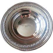 Trophy Bowl Vintage Silver Sedgefield 1954 Reed Barton