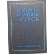 1924 Linoleum Decorating Book Armstrong Advertising Agnes Foster Wright