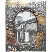Luray Caverns Virginia Vintage Photo Frame 1926 Souvenir