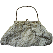 Glass Beaded Little Vintage 1930s to 40s Dance Purse A Bit TLC