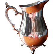 SOLD Water Pitcher Vintage Silver  International Wm. Rogers