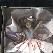 "SALE Hard Plastic ""Melody Doll"" in Original Window Box"