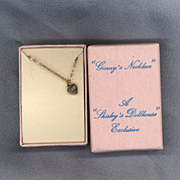 Vintage 1988 Ginny Heart Necklace in Original Box