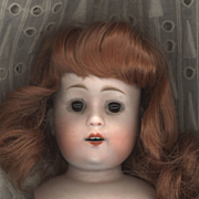 Antique Bisque William Goebel Doll Head