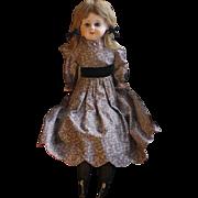 SOLD Antique Patent Washable Papier Mache Doll