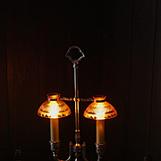 SALE Vintage Pairpoint Student Lamp