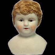 Antique Bisque Nippon Shoulder Head