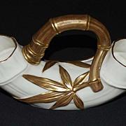 Antique Royal Worcester Porcelain Double Vase