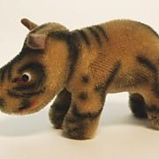 """Steiff Rhinoceros, """"Nosy"""", Vintage"""