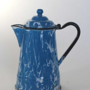 Graniteware – Agateware Coffee Pot