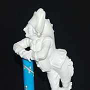 Antique Minton Figurine, Jester, Porcelain, Earthenware