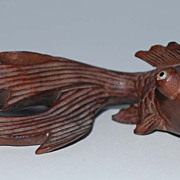 Chinese Carved Gold Fish, Vintage