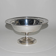 Antique Sterling Silver Compote, Wedgwood