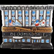 Vintage Limoges Porcelain Covered Box, Bloomingdale's