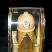 "SOLD Dralle ""Illusion"" Mini Perfume Bottle in Holder and Box"