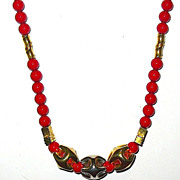 REDUCED 1/2 Off Vintage Gorgeous Lanvin Signed Necklace-