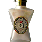 "SALE Unused Schiaparelli ""Snuff"" Talcum"