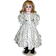 "Pretty As a Picture Heinrich Handwerck 16"" Cabinet Doll"