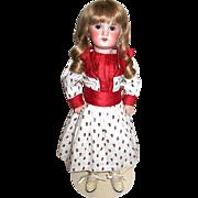 "SALE Gorgeous SFBJ Jumeau 18"" Doll—Original SFBJ Body"
