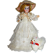 "Rare A/O Belton 7"" Character Doll for the French Market"