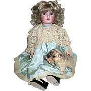 "Exquisite ABG ""Sweet Nell"" Doll in Beautiful Vintage Dress--free shipping"