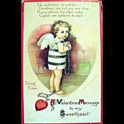 SOLD IAP Ellen Clapsaddle Valentine Postcard