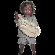 SALE S.F.B.J. 8 in. Brown Native Islander Boy Doll