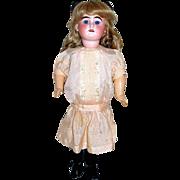 Sweet AM 1894 Doll in Beautiful Original Silk Dress & Undergarments