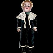 """24"""" A.M. 390n School Boy Doll in Superb Edwardian Outfit"""