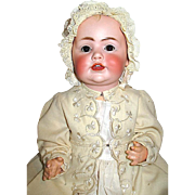 "JDK Marked All Original Hilda's Sister 17"" Doll w Working Crier, Perfect Head, Great ..."
