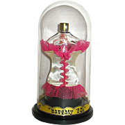 """Vintage """"Naughty 90's"""" Figural Femme Fatale Perfume Presentation w Contents"""